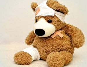 Image of injured bear links to Public Liability Insurance