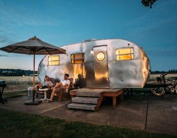 Image of a caravan to signal Caravan Insurance